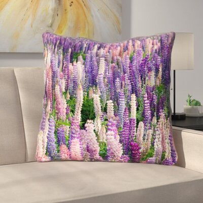 Joyeta Lavender Field Square Euro Pillow