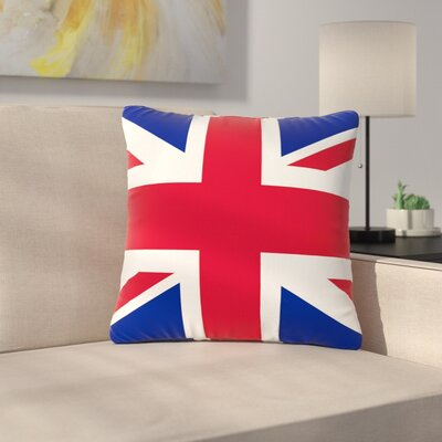 Bruce Stanfield Classic Union Jack Outdoor Throw Pillow Size: 16 H x 16 W x 5 D