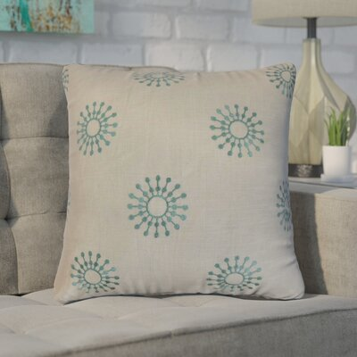 Emrich Floral Cotton Throw Pillow