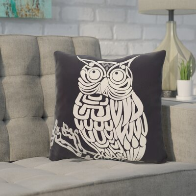 Galvan Animal Outdoor Throw Pillow Color: Blue