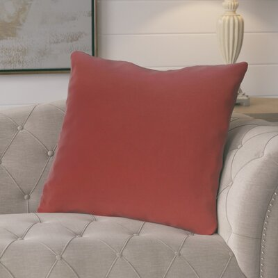 Cochran Solid Decorative Outdoor Pillow Color: Buddha, Size: 18 H x 18 W x 1 D