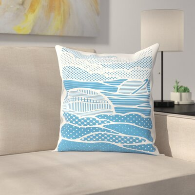 Joe Van Wetering Summer Solstice Throw Pillow Size: 16 x 16
