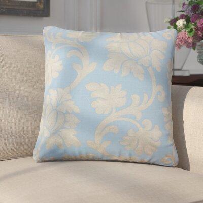 Arrighetto Floral Throw Pillow Color: Chambray