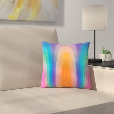 Chroma 01 Throw Pillow Size: 14 x 14