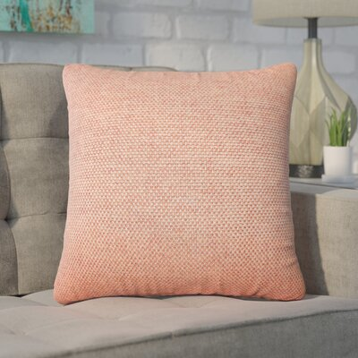 Chapple Solid Throw Pillow Color: Cinnamon