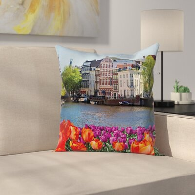 European Pillow Cover Size: 18 x 18