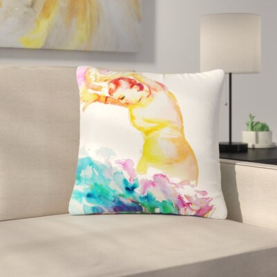 Cecibd Espana I People Outdoor Throw Pillow Size: 18 H x 18 W x 5 D