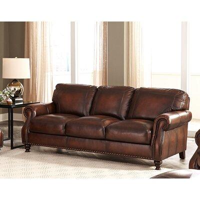 Trecartin Genuine Leather Sofa