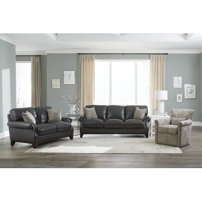 Cioffi Leather Configurable Living Room Set