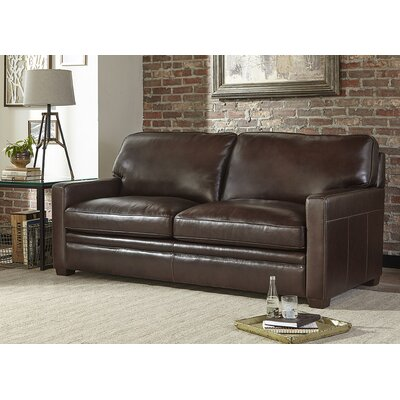 Diego Genuine Leather Sleeper Sofa
