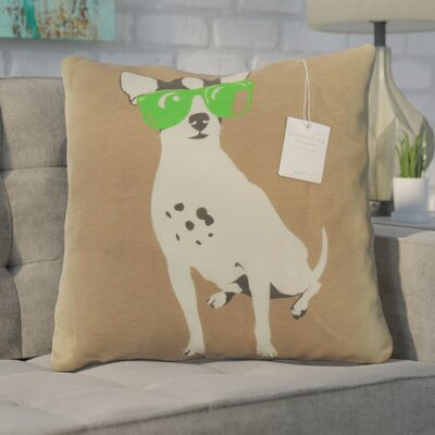 Lilou Decorative Throw Pillow Color: Lime