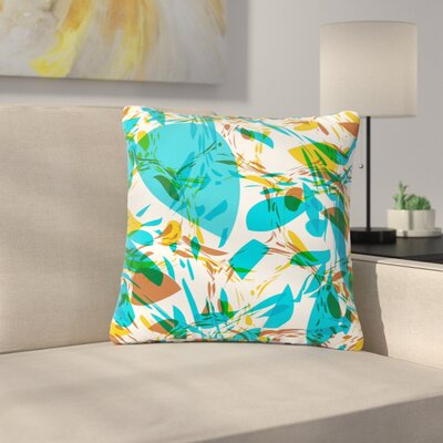 Matthias Hennig Wild Areas Floral Outdoor Throw Pillow Size: 18 H x 18 W x 5 D