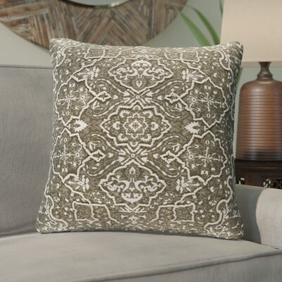 Brandon Throw Pillow Size: 22 H x 22 W x 4 D, Color: Dark Brown