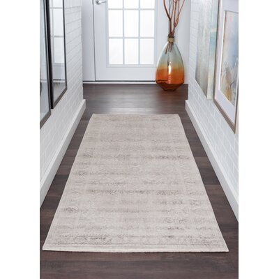 Josue Cream Area Rug Rug Size: Runner 3' x 10'