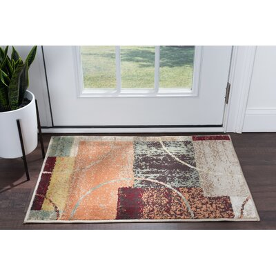 Weishaar Brown/Beige Area Rug Rug Size: Rectangle 2 x 3