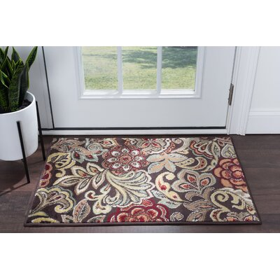 Brightling Brown Area Rug Rug Size: Rectangle 2 x 3