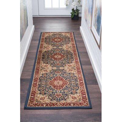 Clarence Machine Woven Polypropylene Area Rug Rug Size: Rectangle 2 x 10