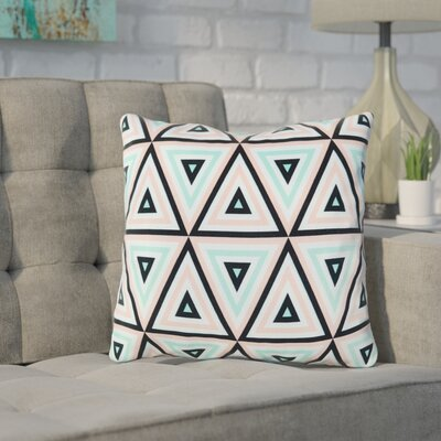 Mulvaney Pyramid Geo Throw Pillow