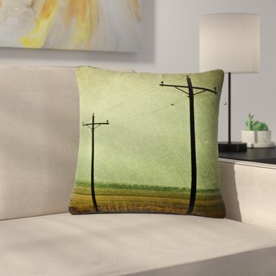 Sylvia Coomes Electric Digital Outdoor Throw Pillow Size: 16