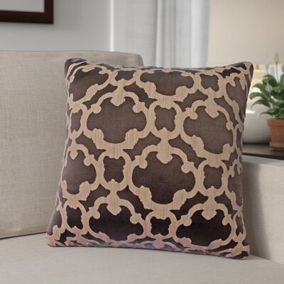 Rockdale Tile Throw Pillow Color: Designer Brown