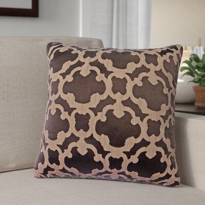 Rockdale Tile Throw Pillow Color: Designer Brown