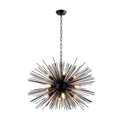 Kinyon 12-Light Sputnik Chandelier Size: 60 H x 29.4 W x 29.4 D