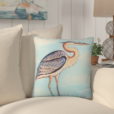 Lauro Heron on Stump No Cord Outdoor Throw Pillow