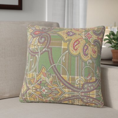 Whilby Cotton Throw Pillow Color: Hunter