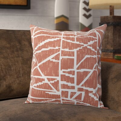 Neve Throw Pillow Color: Peach