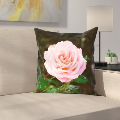 Rose Pillow Cover Size: 26 x 26