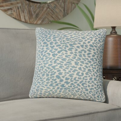 Motyka Animal Print Throw Pillow Color: Delft