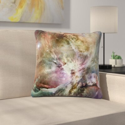 Suzanne Carter Orion Nebula Celestial Outdoor Throw Pillow Size: 16 H x 16 W x 5 D