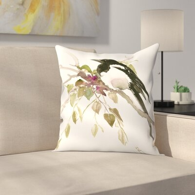 Suren Nersisyan Cactuses Throw Pillow Size: 16 x 16