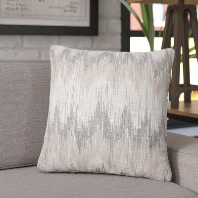 Koussa Ikat Throw Pillow Color: Driftwood