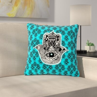 Shirlei Patricia Muniz the Eye llustration Outdoor Throw Pillow Size: 16 H x 16 W x 5 D