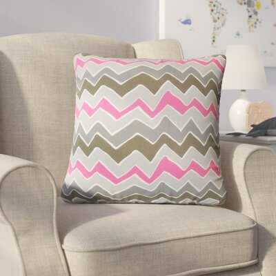 Hendry Zigzag Cotton Throw Pillow