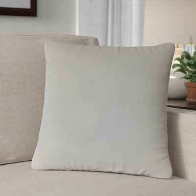 Theriault Solid Cotton Throw Pillow Color: Orchid