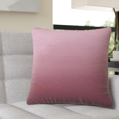 Moreell Throw Pillow Color: Pink