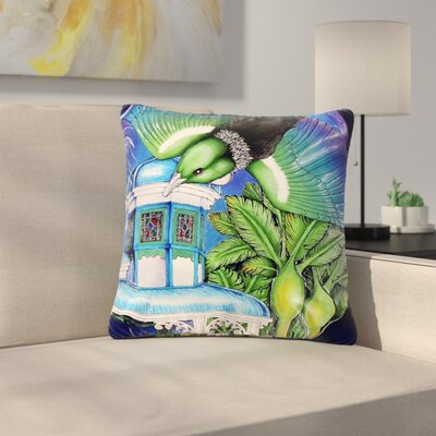 Vinny Thompson New Zealand Bird Outdoor Throw Pillow Size: 18 H x 18 W x 5 D