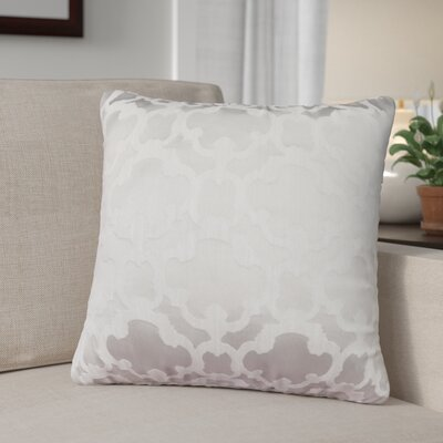 Rockdale Tile Throw Pillow Color: White