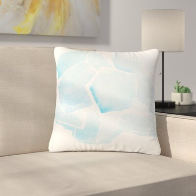 Jennifer Rizzo Quartz Watercolor Outdoor Throw Pillow Size: 18 H x 18 W x 5 D