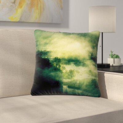 888 Design Dark Mystical Landscape Outdoor Throw Pillow Size: 16 H x 16 W x 5 D