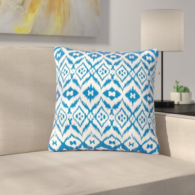 Victoria Krupp Vk_Ikat Tribal Outdoor Throw Pillow Size: 16 H x 16 W x 5 D