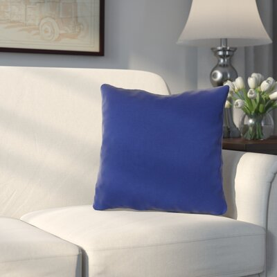 Blair Outdoor Throw Pillow Fabric: Veranda Cobalt