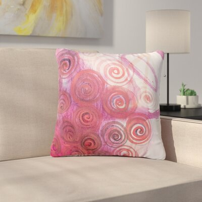 Maria Bazarova Abstractions Outdoor Throw Pillow Size: 18 H x 18 W x 5 D