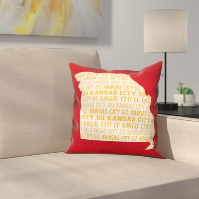Missouri Go Team Throw Pillow