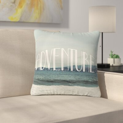Adventure Photography Outdoor Throw Pillow Size: 16 H x 16 W x 5 D