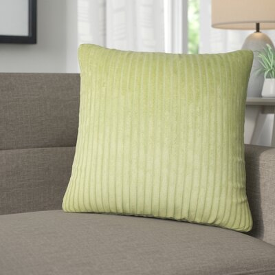 Galilea Solid Throw Pillow Color: Avocado