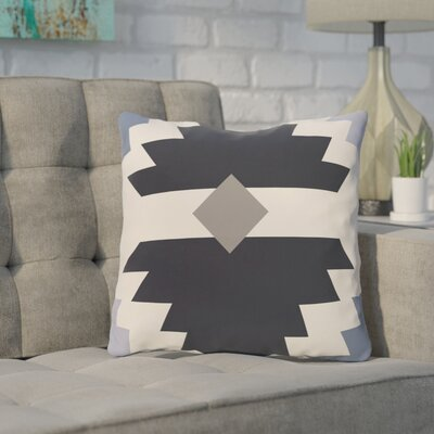 Cleon Outdoor Throw Pillow Color: Blue