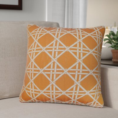 Cari Diamonds Cotton Throw Pillow